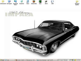 My desktop by kshapiro