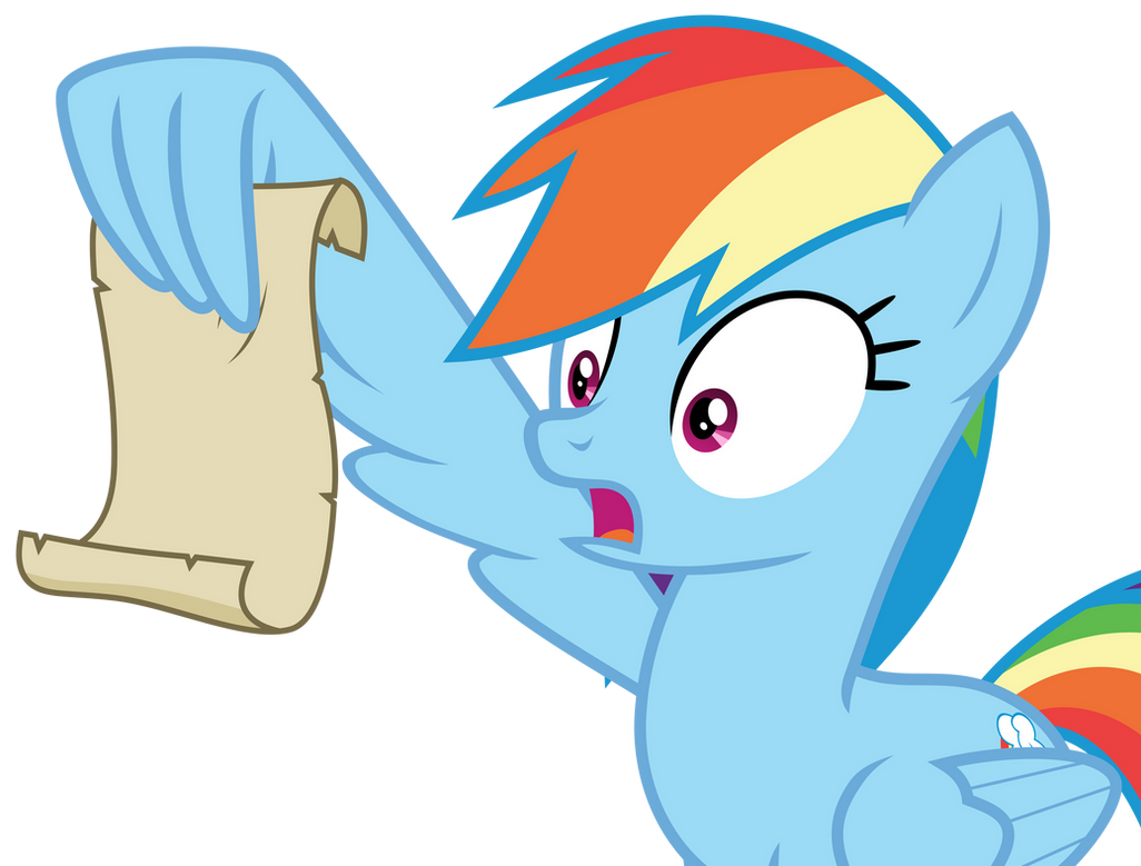 rainbow_dash_read_the_letter_by_hendro10