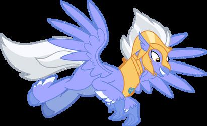 Mlp Fim Sky Beak (Happy) Vector by Hendro107
