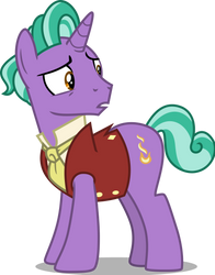 Mlp Fim Firelight (Huh) Vector by Hendro107