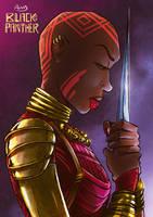 Black Panther's Dora Milaje by AWVAS