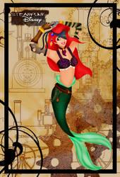 Steampunk Ariel by HelleeTitch