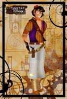 Steampunk Aladdin by HelleeTitch