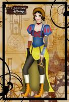 Steampunk Snow White by HelleeTitch