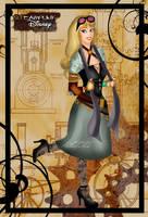Steampunk Briar Rose by HelleeTitch