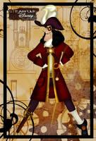 Steampunk Captain Hook by HelleeTitch