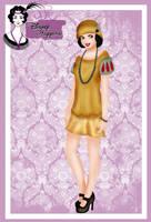 Disney Flapper - Snow White by HelleeTitch