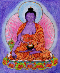 Medicine Buddha (3. 12. 2016) by gar-o
