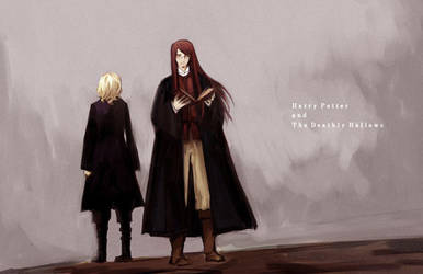The Deathly Hallows by Yhantou