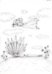 Crystal Fall by Kumin