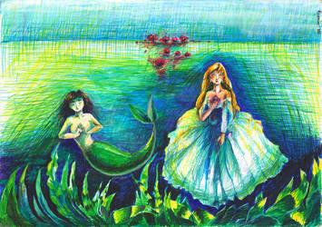 Mermaids by Kumin