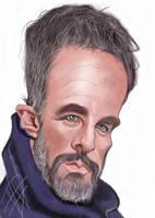 Raoul Bova Caricature by du-har