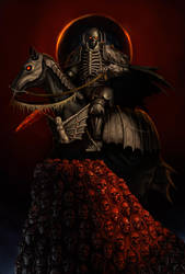 Skull Knight Final by WilWhalen