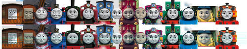 female face-comparison by lucycat410