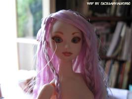 WIP: Obitsu doll pixie ears by SicilianValkyrie