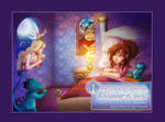 Comm: Princess Amber's Bed by SicilianValkyrie
