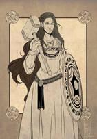 Comm: Shield Maiden by SicilianValkyrie