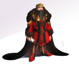 Commission: Dwarf King by SicilianValkyrie