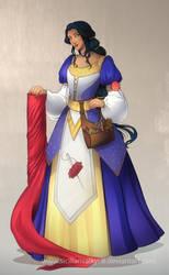 Comm: Seamstress color version by SicilianValkyrie