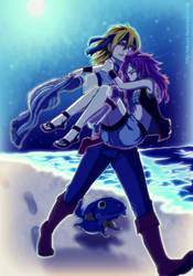 Fairy Tail - One more time Natsu/NatsukoXLucy/Ruki by Takyya