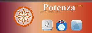 Potenza - Icon Set by BompadreAlessandro