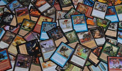 Magic: The Gathering Urza's Saga Expansion Set by agentpalmer