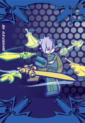 FF versus XIII badge art by Kieshar