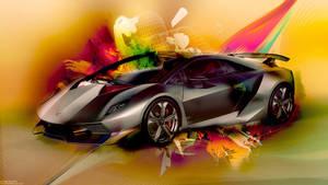 Lamborgini Car Wallpaper by ItaRoyaNx