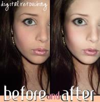 Photoshop Retouching. by kelequinn