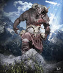 Minotaur by htbuffalo