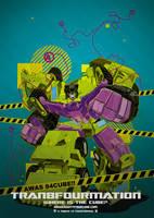 tran84mation - devastator by spacemaggot