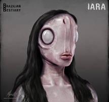Brazilian Bestiary - Iara by mikaelquites