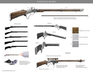 Flintlock Musket by mikaelquites