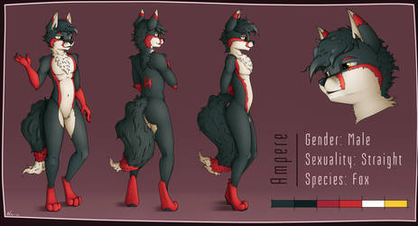 Ampere - Character Sheet by Neko-me