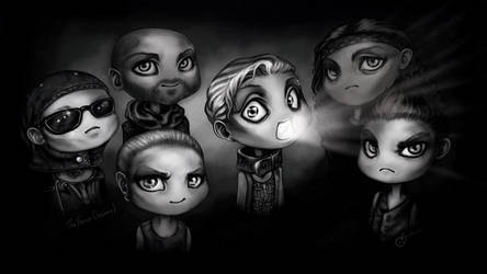 Rammstein by Anastasia-berry