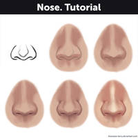 Nose. Tutorial by Anastasia-berry