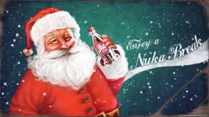 Nuka Santa - wallpaper by Anastasia-berry