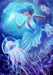 Lady Jellyfish by Anastasia-berry