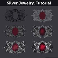 Silver Jewelry. Tutorial by Anastasia-berry