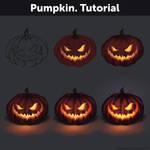Pumpkin. Tutorial by Anastasia-berry