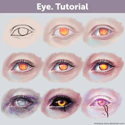 Eye. Tutorial + References by Anastasia-berry