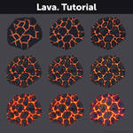 Lava. Tutorial by Anastasia-berry
