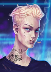 Strong Cigarette by Anastasia-berry