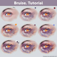Bruise. Tutorial by Anastasia-berry