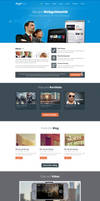 Homepage Design by NiravJoshi