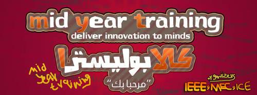 mid year training fb cover by hamedmostafa