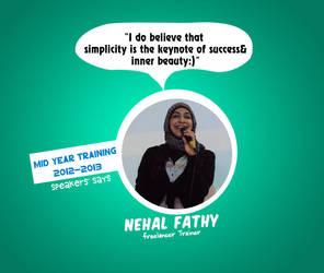 Nehal Fathy says by hamedmostafa