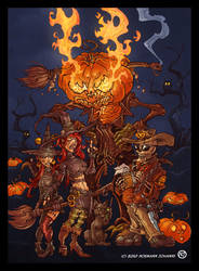 Halloween Contest entry by Voodoodwarf