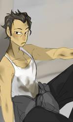 (No Good Refusals) Sakamoto Seiji by wyrvel