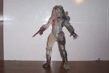Uncloaking Predator - 7-Inch Scale Custom Figure by Drakhand006
